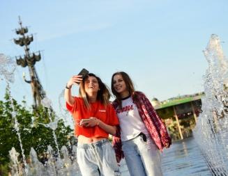 Около 78 тысяч человек посетили мероприятия в Парке Горького
