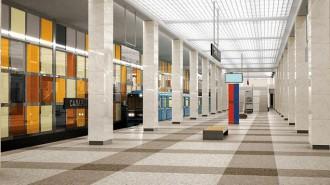 Строительство первых станций метро в Новой Москве находится в завершающей стадии