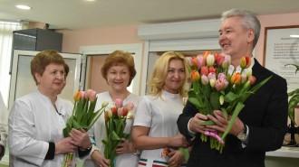 03 марта 2016 Мэр Москвы Сергей Собянин посетил гордскую поликлинику № 180 в районе Митино
