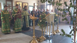 В щербинском Храме уже многие годы существует традиция приглашать в этот день ветеранов.