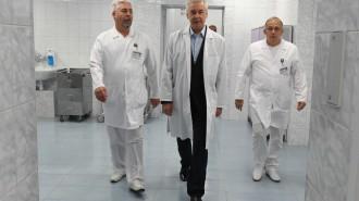 31 августа 2016 Мэр Москвы Сергей Собянин открыл корпус нейрохирургии в Боткинской больнице