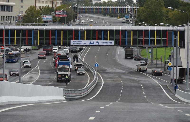 Эстакада наЩелковском шоссе готова коткрытию