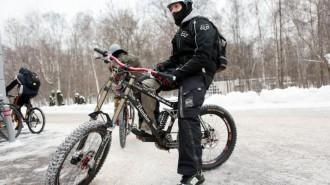 Второй масштабный велопарад пройдет этой зимой. Фото: архив
