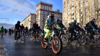 Велопарад пройдет в Москве. Фото: архив