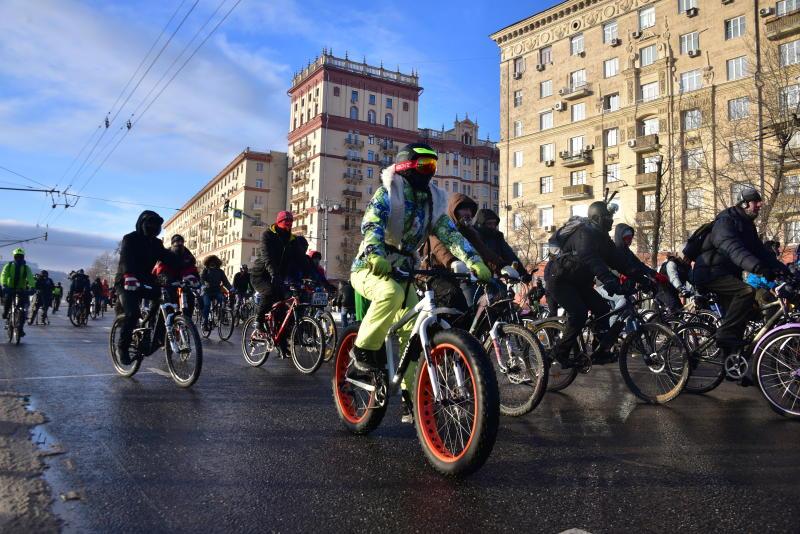 Общегородское мероприятие «Московский велопарад» пройдет встолице