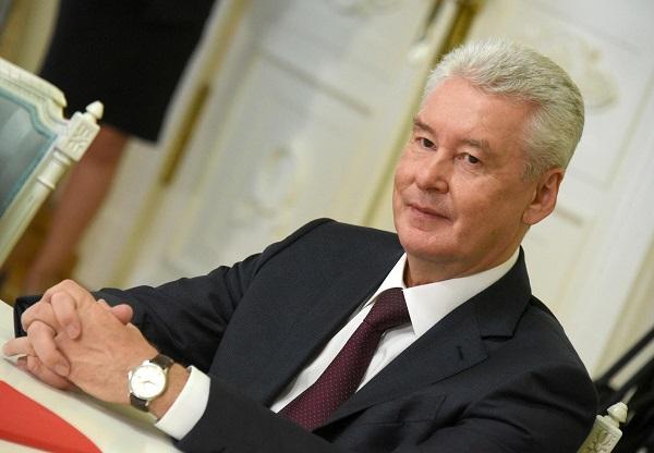 С.Собянин открыл участок Калужского шоссе после реконструкции