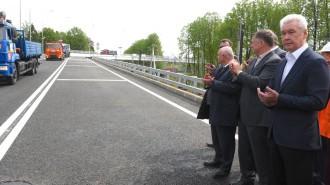 31 мая 2017 года мэр Москвы Сергей Собянин открыл новый путепровод в Переделкино