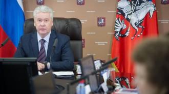 Мэр Москвы Сергей Собянин. Фото: пресс-служба Правительства Москвы