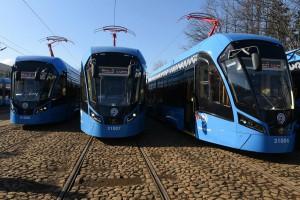 К концу 2019 года передовых трамваем будет 300. Фото: архив