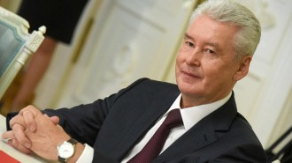 Мэр Москвы Сергей Собянин поздравил предпринимателей. Фото: архив