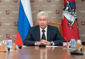 Мэр Москвы Собянин. Фото: пресс-служба мэра и Правительства Москвы