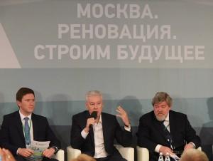 Мэр Москвы Сергей Собянин на пленарном заседании 7-го Московского гражданского форума 17 июня