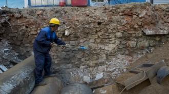 Фундамент четырех церквей обнаружен в Москве. Фото: архив