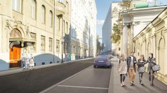 «Моя улица» - крупнейшие проект благоустройства в Москве. Фото: stroi.mos.ru