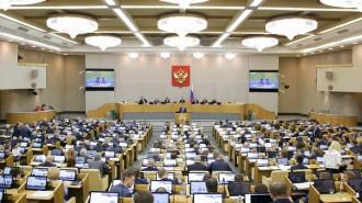 Законопроект принят в первом чтении. Фото: Фотослужба Государственной Думы