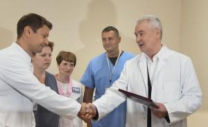 Мэр Москвы Сергей Собянин посетил ГКБ№7