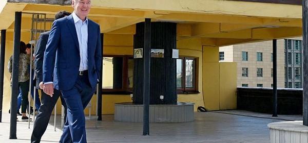 Мэр Москвы Сергей Собянин осмотрел ход реставрации Дома Наркомфина