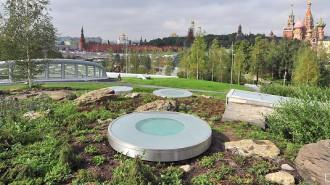 Владимир Путин открыл парк «Зарядье» в самом сердце столицы. Фото: mos.ru