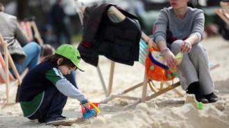 Новая жизнь пляжа «Левобережный». Фото: архив