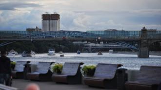 Воробьевы горы, набережная Москвы-реки
