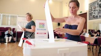 В столице началось голосование на выборах мэра. Фото: архив