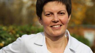 Главврач Щербинской городской больницы Елена Лисицина.