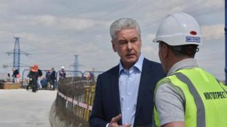 Собянин отметил темпы дорожного строительства в Новой Москве. Фото: архив