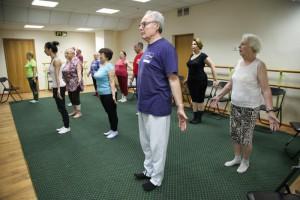 Программа «Московское долголетие» помогает пенсионерам поддерживать себя в форме. Фото: архив