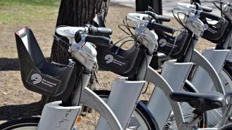 За семь лет сеть станций велопроката в столице выросла почти в 10 раз. Фото: архив