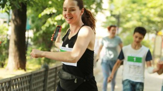 В городских парках пройдут благотворительные забеги. Фото: архив