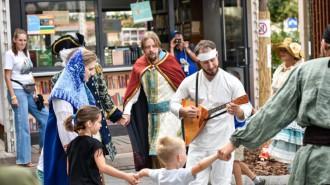 Более 1,7 млн человек уже посетили площадки празднования Дня города. Фото: архив