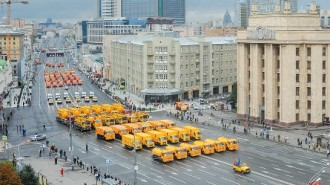 В выходные изменится схема движения транспорта на ряде улиц Москвы. Фото: архив