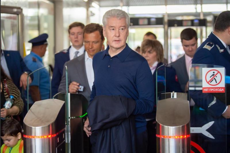 Собянин объявил о решении сделать проезд по МЦД бесплатным на две недели. Фото: архив