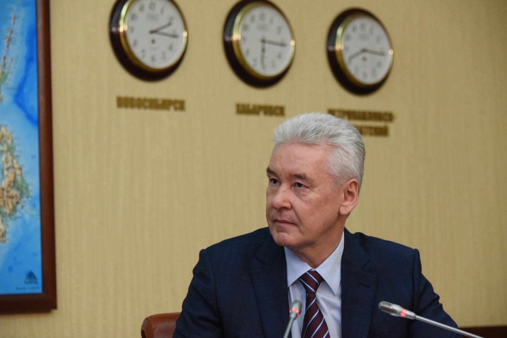 Собянин рассказал о ходе реконструкции Боткинской больницы. Фото: мэр Москвы Сергей Собянин