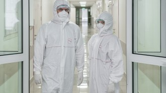 На базе клиники «К31 Сити» открыт коронавирусный стационар на 255 коек. Фото: сайт мэра Москвы