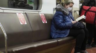 Ввод пропусков в Москве снизил число людей в транспорте на 575 тыс человек. Фото: архив