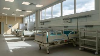 Инфекционная больница в Новой Москве построена с нуля всего за месяц. Фото: сайт мэра Москвы