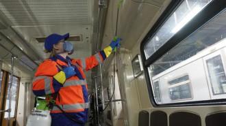 Московский метрополитен ведет круглосуточную тотальную дезинфекцию. Фото: архив