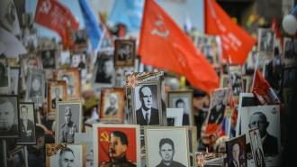 В Москве в день 75-летия Победы проходит онлайн-шествие «Бессмертный полк». Фото: архив
