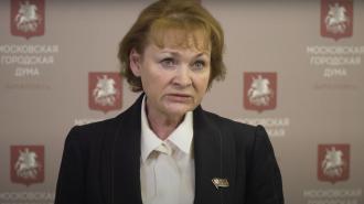На фото член комиссии Мосгордумы по здравоохранению и охране общественного здоровья Людмила Стебенкова