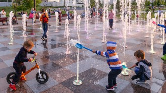 Проект «Мой район» помогает обустроить город фонтанами