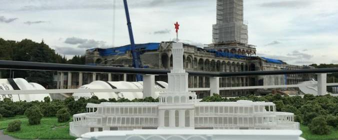 Северный речной вокзал станет знаковым объектом реставрации 2020 года. Фото: архив
