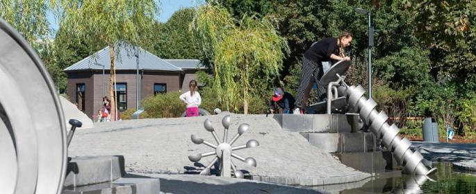 Досуг для детей: жителям рассказали о необычных игровых площадках в Москве. Фото: источник