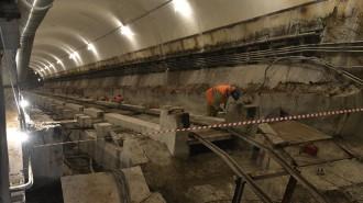 Строительство станции «Электрозаводская» БКЛ метро завершат в этом году. Фото: архив