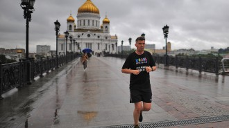 Депутат МГД Игорь Бускин рассказал о развитии в столичных парках инфраструктуры для бега Фото: архив