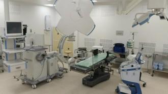 Спецотделение больницы Виноградова в Москве готовится к приему пациентов. Фото: архив