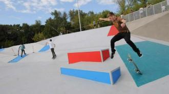 Скейтбординг и воркаут: где заняться уличными видами спорта рассказали москвичам. Фото: архив