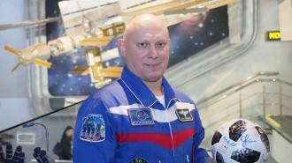 Летчик-космонавт Олег Артемьев: Важно сохранить интерес к астрономии у молодежи. Фото: архив