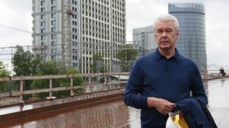 Собянин: В бывших промзонах Москвы создано около 500 тыс рабочих мест. На фото мэр Москвы Сергей Собянин