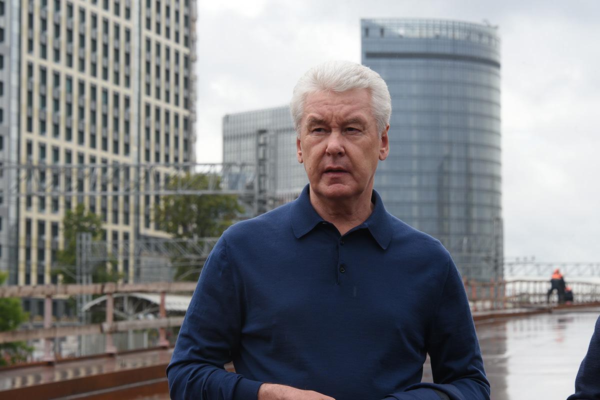 Собянин отметил активное развитие городской  инфраструктуры в Саларьево. На фото мэр Москвы Сергей Собянин
